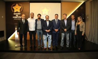 O Palmeiras foi o vencerdor do Prêmio Gestão de Campeão Foto: Rodrigo Capelo