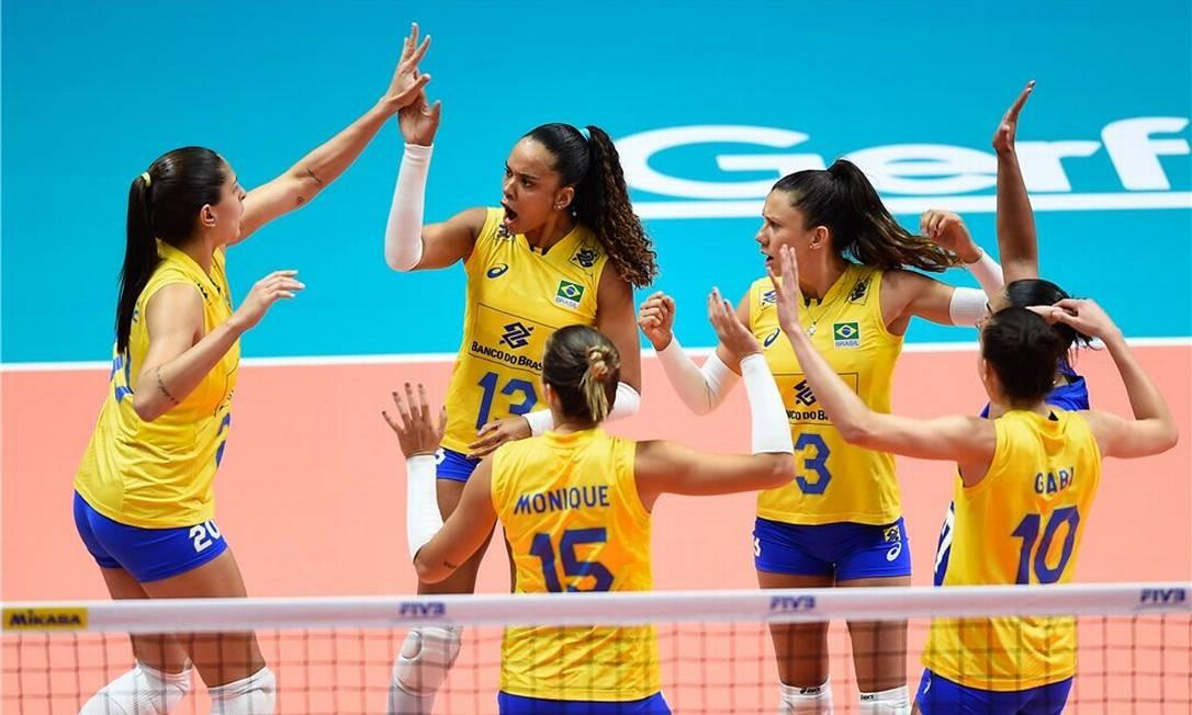 Seleção brasileira feminina de vôlei volta a vencer pela Liga das Nações -  Jornal O Globo e783234877ef7