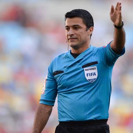 Sandro Meira Ricci é mais um brasileiro na Copa do Mundo Foto: Pedro Martins / O Globo