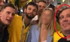 Luciano Gil Mendes Coelho no vídeo que viralizou na internet Foto: Reprodução / Internet