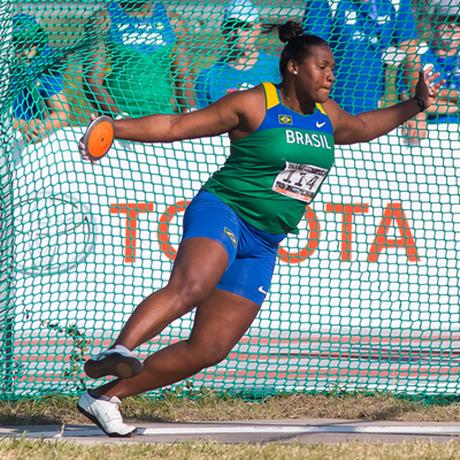 Andressa foi finalista do Mundial de Londres, em 2017 Foto: Divulgação/ / IAAF