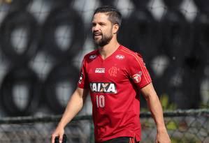 Diego foi desfalque nos dois últimos jogos Foto: Gilvan de Souza / Divulgação