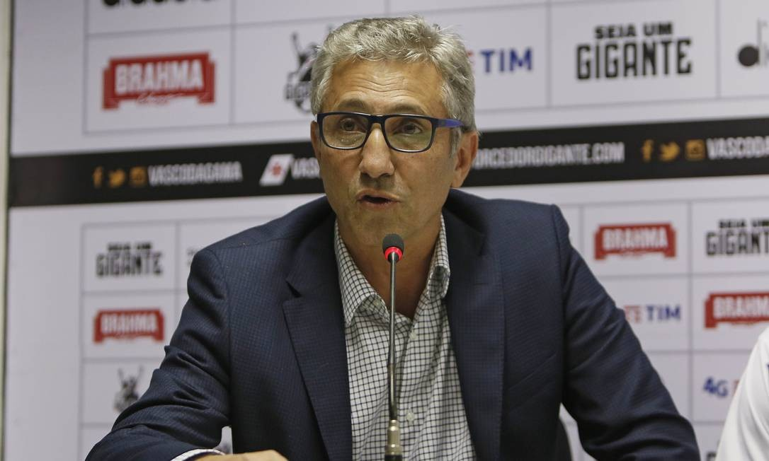 Alexandre Campello, presidente do Vasco Foto: Rafael Ribeiro / O Globo