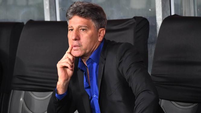 Renato Gaúcho é sonho antigo do Flamengo Foto  NELSON ALMEIDA   AFP de8902b79a559