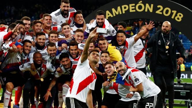 34f3b6e5d9 River Plate vence a Libertadores em jogo emocionante contra o rival Boca  Juniors