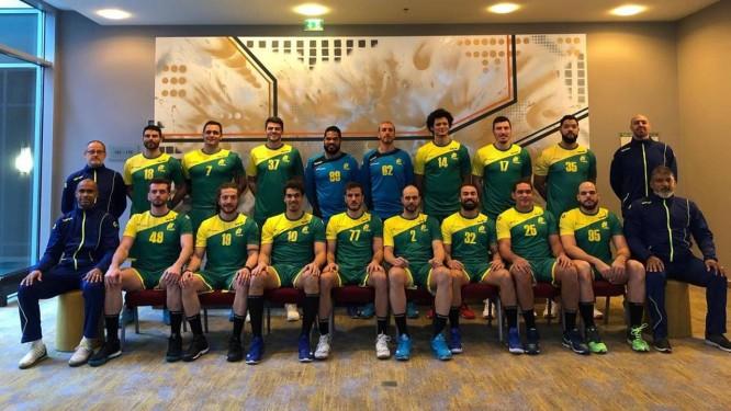 Seleção masculina de handebol se preparou na Noruega para Mundial: estreia de novo uniforme Foto: Divulgação