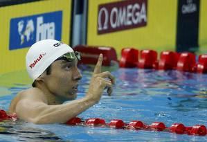 Breno Correia ganhou um bronze e um ouro no Mundial da China: é o grande nome do esporte atualmente Foto: Satiro Sodré/SSPress/CBDA