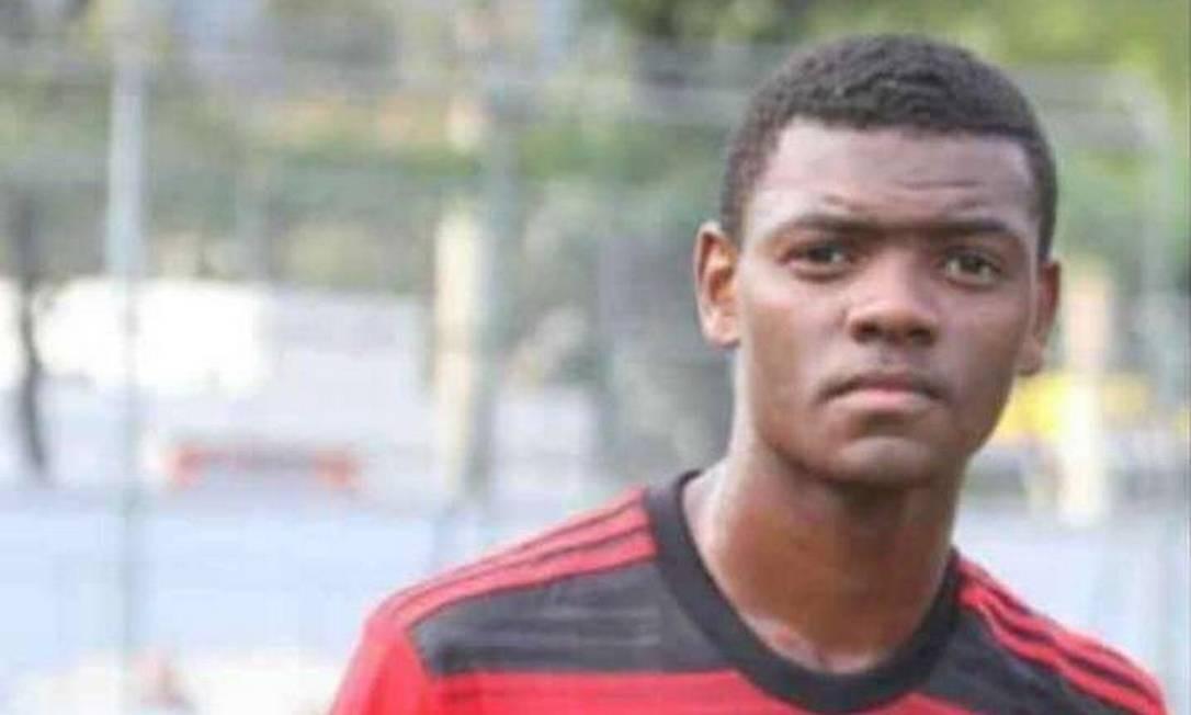 Pablo Henrique da Silva Matos nasceu em Oliveiras (MG) e tinha apenas 14 anos Foto: Reprodução/Redes Sociais