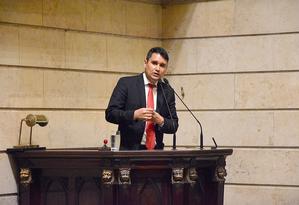 O vereador Luiz Carlos Ramos Filho Foto: Renan Olaz / Divulgação / CMRJ