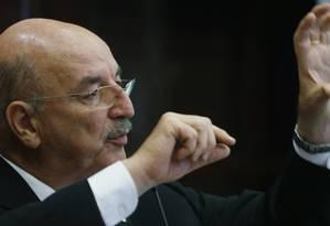 O ministro Osmar Terra Foto: O Globo