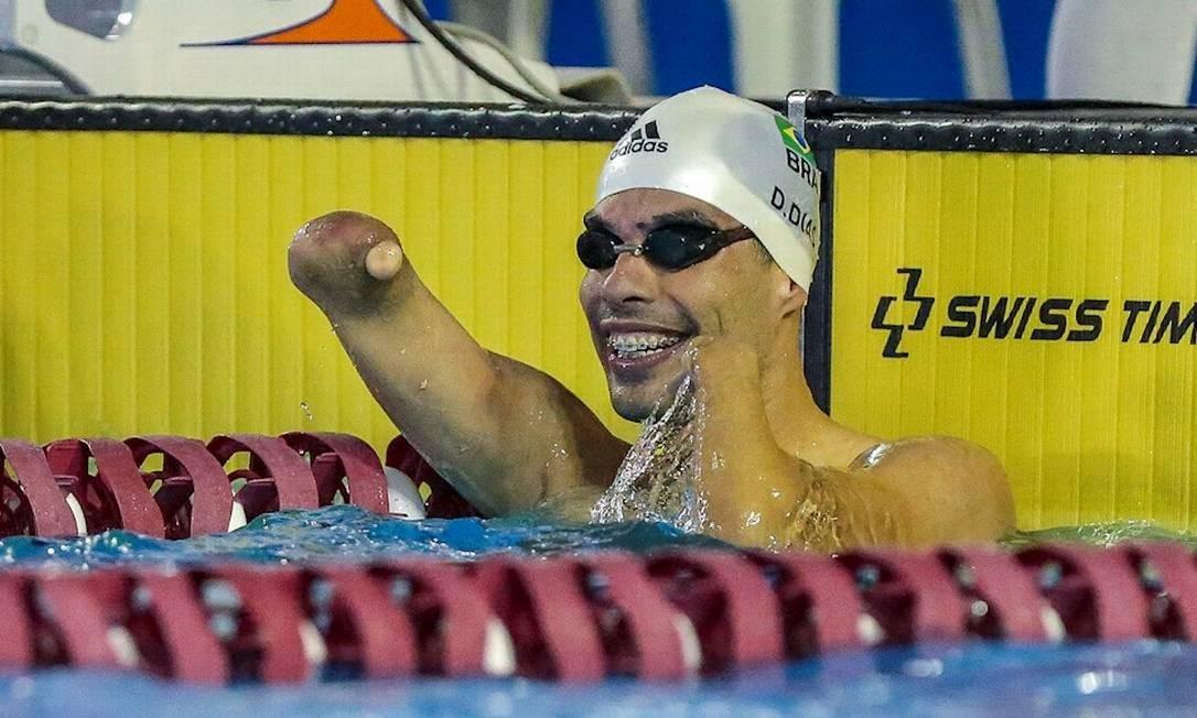 O paulista Daniel Dias é dono de 27 medalhas de ouro em Parapans e irá disputar 7 provas em Lima, no Peru Foto: Alê Cabral/CPB