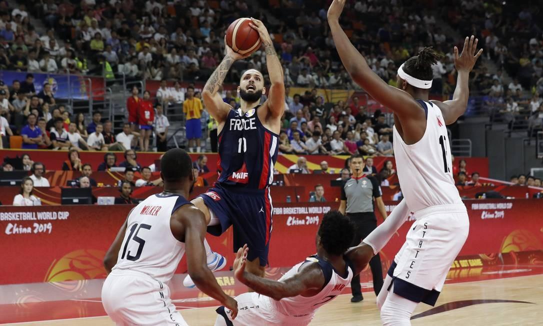 França quebra a invencibilidade de 48 jogos dos Estados Unidos Foto: KIM KYUNG-HOON / REUTERS