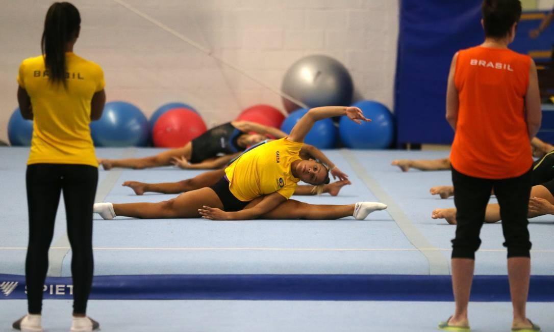 Rebeca tem chance de classificação via Copa do Mundo ou Pan-americano da modalidade Foto: Luiza Moraes / Agência O Globo