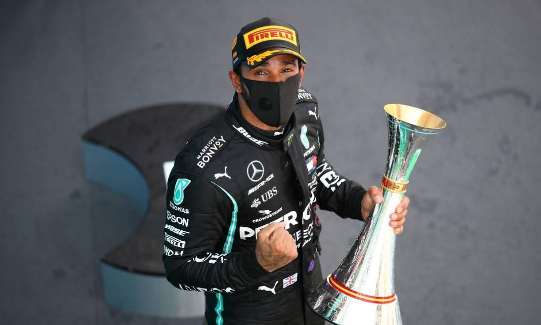 Hamilton, absoluto, ganha GP da Espanha e está perto de recorde de ...