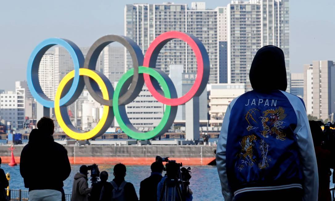 Os Jogos Tóquio-2021 podem ser realizados numa bolha e voltados apenas para a TV Foto: KIM KYUNG-HOON / REUTERS