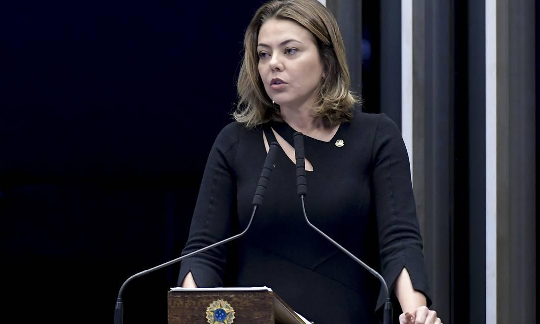 Senadora Leila Barros acredita que seu projeto não prejudicará o processo de vacinação pelo SUS Foto: Waldemir Barreto / Agência O Globo