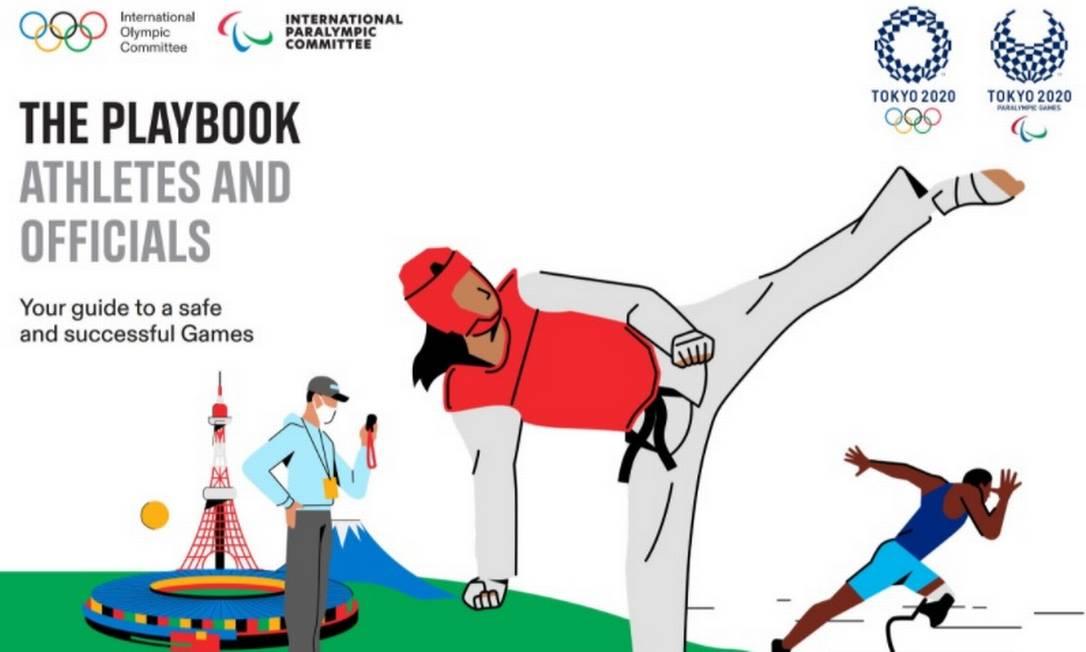 Regras para os atletas também serão atualizadas até julho Foto: Reprodução