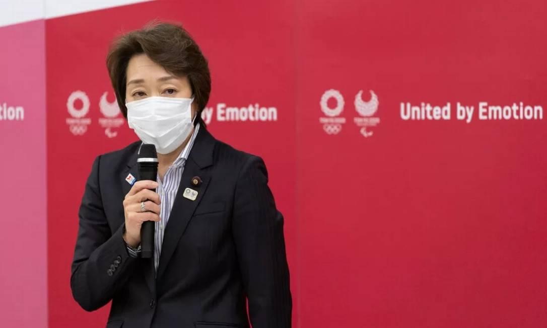 Seiko Hashimoto ocupava o cargo de Ministra Olímpica e pediu desligamento do governo Foto: Reuters