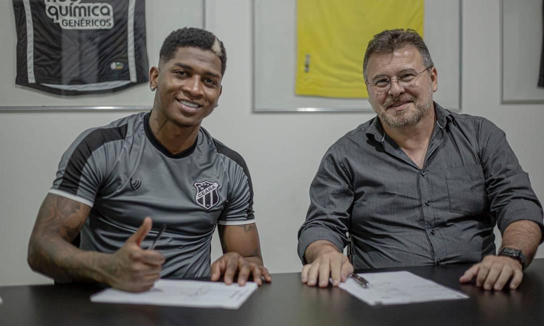 Ceará anuncia contratação de Yony González Foto: Divulgação