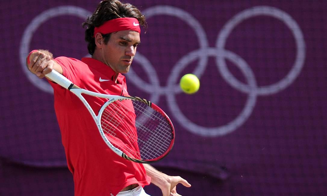 7º - Roger Federer(tenista): US$ 90 milhões Foto: CARL COURT / AFP