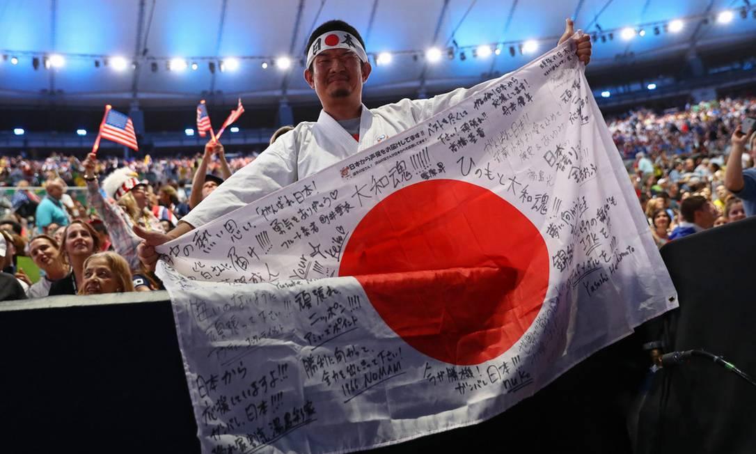 Kazunori Takishima esteve em todos os Jogos Olímpicos apoiando o Japão nos últimos 15 anos Foto: Reprodução