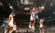 NBA durante jogo