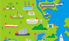 Rio está quase pronto para receber os Jogos Foto: Reproduçao