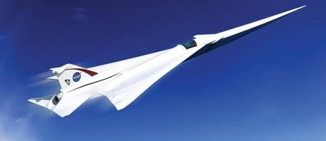 Conceito de avião supersônico da NASA Foto: NASA
