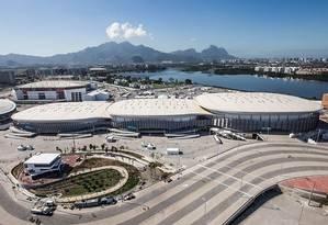 Vista área das Arenas Cariocas, palco das competições Foto: Renato Sette Camara