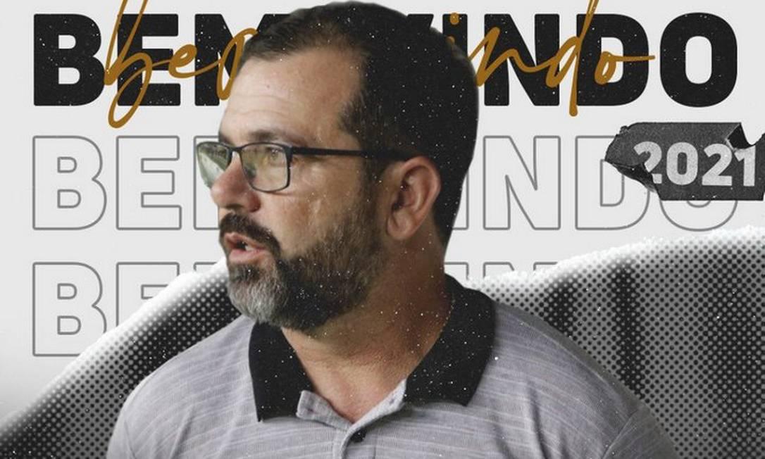 Sob nova direção: Botafogo anuncia Enderson Moreira como novo treinador Foto: Divulgação