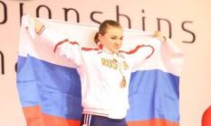 Tatiana Kashirina, medalha de prata em Londres-2012 e tetracampeã mundial, é uma das excluídas do levantamento de peso Foto: Reprodução / Facebook