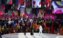 Gilberto Gil, Anitta e Caetano Veloso cantam na cerimônia de abertura dos Jogos Olímpicos Foto: ISSEI KATO / REUTERS
