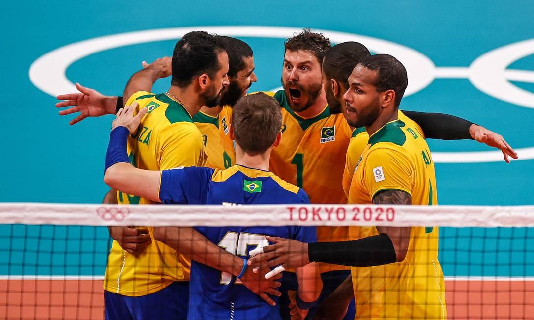Com vitória contra o Japão, Seleção Brasileira de vôlei chega à quinta semifinal de Olimpíada seguida. Foto: Jonne Roriz/COB