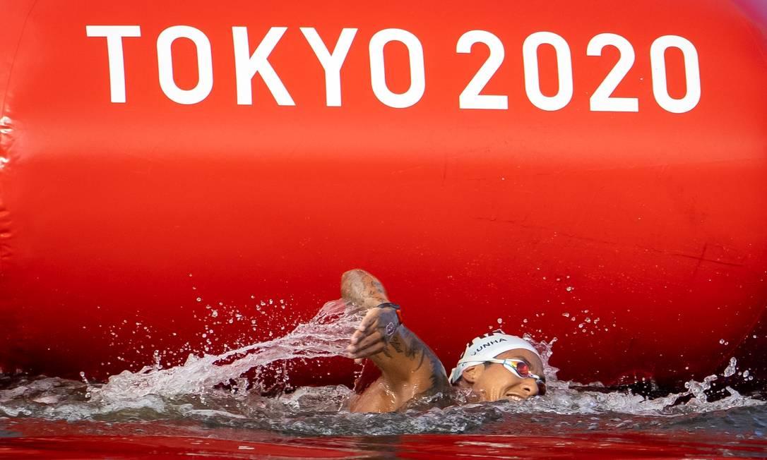 Ana Marcela Cunha, medalhista de ouro nas Olimpíadas de Tóquio. Foto: Jonne Roriz / Jonne Roriz/COB