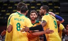 Brasil perde para o Comîte Olímpico Russo e está fora da final olímpica Foto: Gaspar Nóbrega/COB