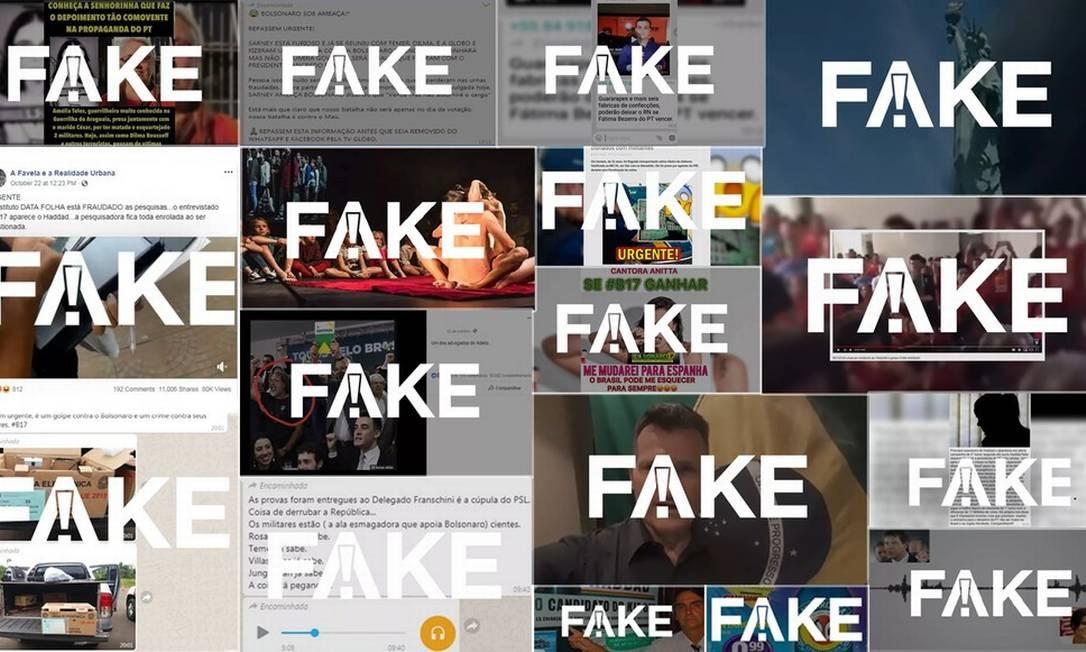 São 957 verificações feitas ao longo da campanha Foto: Reprodução