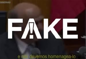É falsa mensagem que diz que ministro suíço riu de Lula e Gleisi Hoffmann Foto: Reprodução