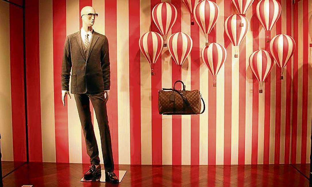 Cannes também é um ótimo destino de compras, com lojas de marcas famosas espalhadas pela cidade Foto: Bruno Agostini / O Globo