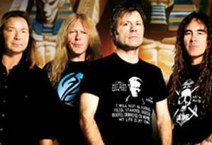 Iron Maiden fecha o Rock in Rio Foto: Divulgação