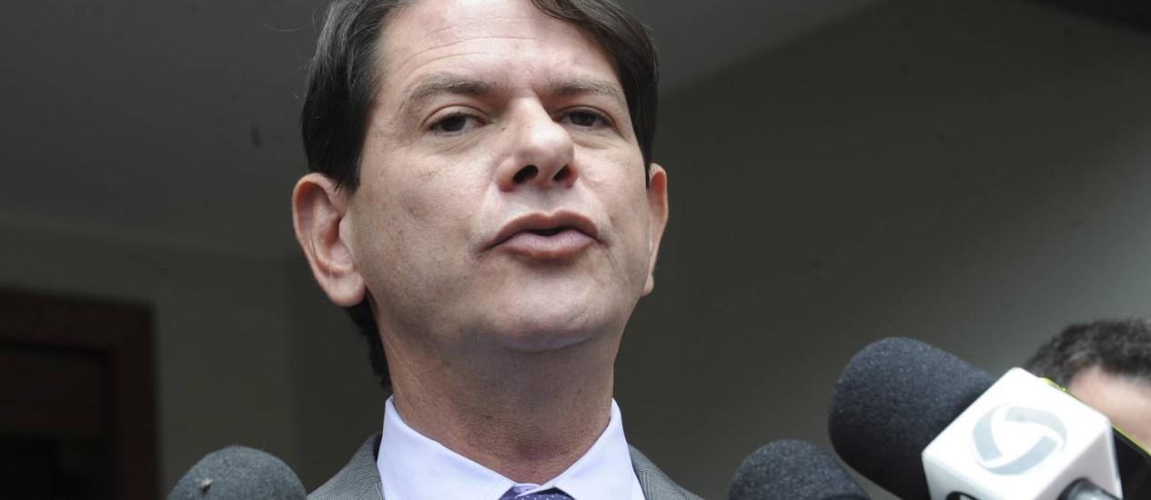 Cid Gomes, governador do Ceará Foto: Arquivo / Agência Brasil