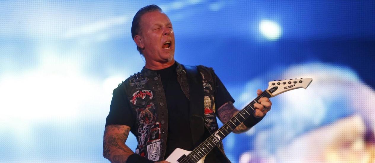 Show do Metallica no Rock in Rio Foto: Ivo Gonzalez / Agência O Globo