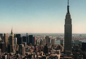 Empire State Building receberá um show de luzes para comemorar o Ano Novo chinês Foto: Kathy Willens / Reuters