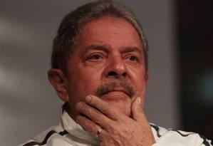 O ex-presidente Luiz Inácio Lula da Silva, que tenta fazer alianças para 2014 Foto: Michel Filho