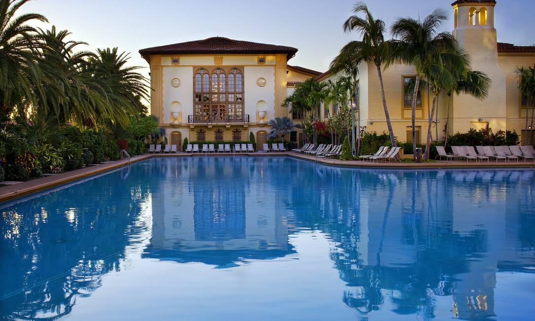 A piscina do hotel Biltmore Foto: Divulgação