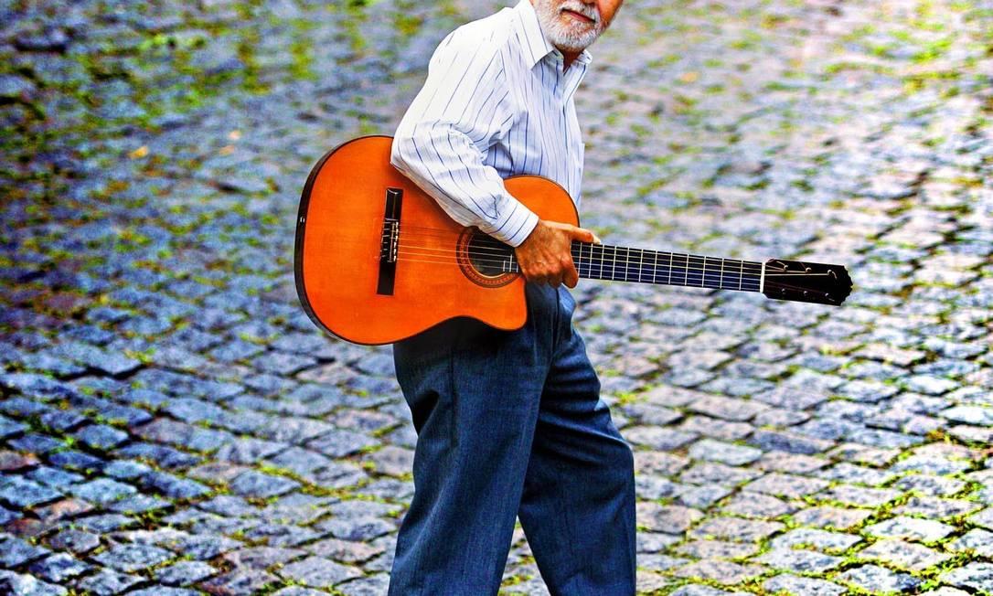 O músico Oscar Castro Neves Foto: Leonardo Aversa / Agência O Globo