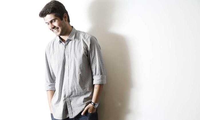 Giuliano Manfredini, filho único de Renato Russo, tem uma série de projetos para a obra do líder do Legião Urbana, entre CD, DVD, exposição, filme e documentário Camilla Maia / Agência O Globo