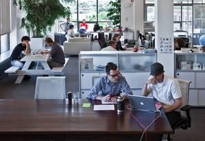 Escritório da IDEO em Boston, EUA Foto: Divulgação