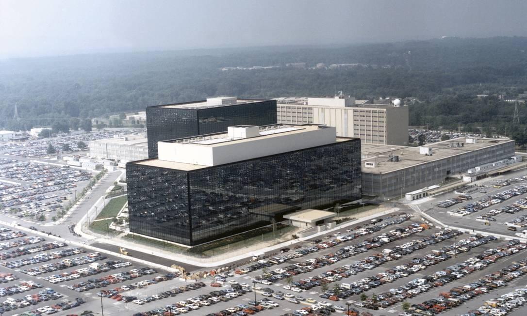 A sede da Agência Nacional de Segurança dos EUA em Fort Meade: caso de espionagem interna ganhou nova revelação Foto: U.S. GOVERNMENT / New York Times