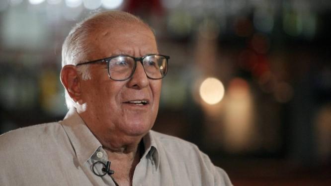 Fernando Pamplona, 'o pai de todos', em foto de 17/12/2012 / Foto: Thiago Lontra / Agência O Globo