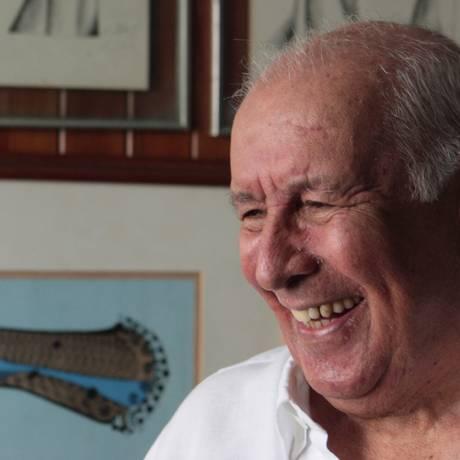 RI -Exclusivo- 10/02/2011 Rio de Jabneiro(RJ) 50 anos do Estandarte de Ouro. Fernando Pamplona.Foto Gustavo Stephan Foto: Gustavo Stephan / Agência O Globo